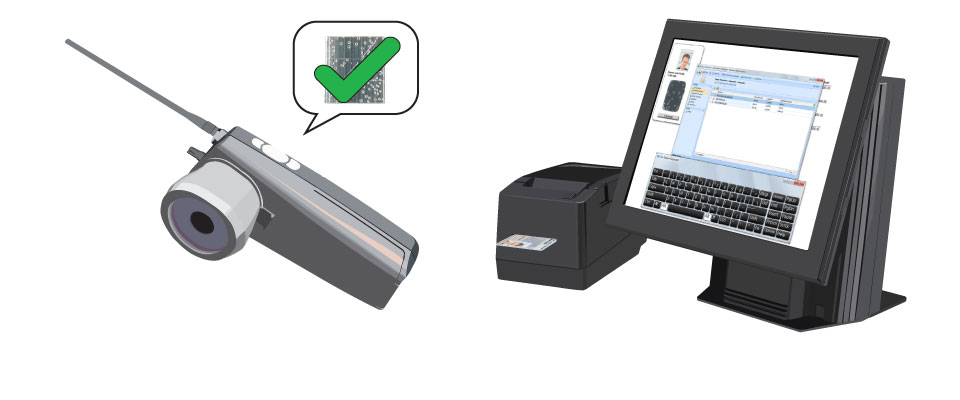 Automated verification equipment is available - handheld devices or OEM hardware can be integrated into existing systems.
