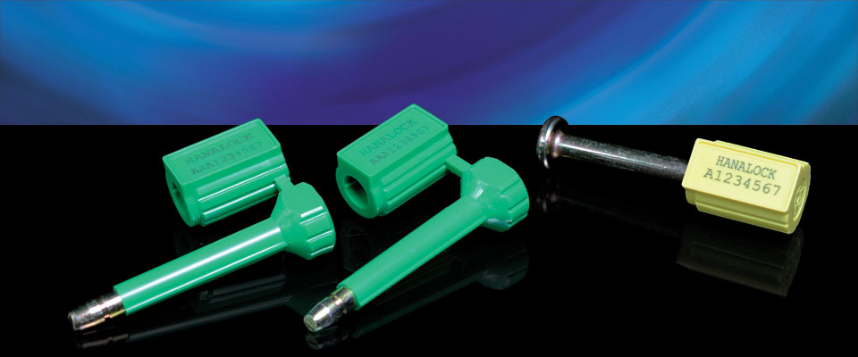 Based on EinLock technology, the HanaLock is an ultra-high security bolt seal with the ability to have anti-spin features in coated pin form.