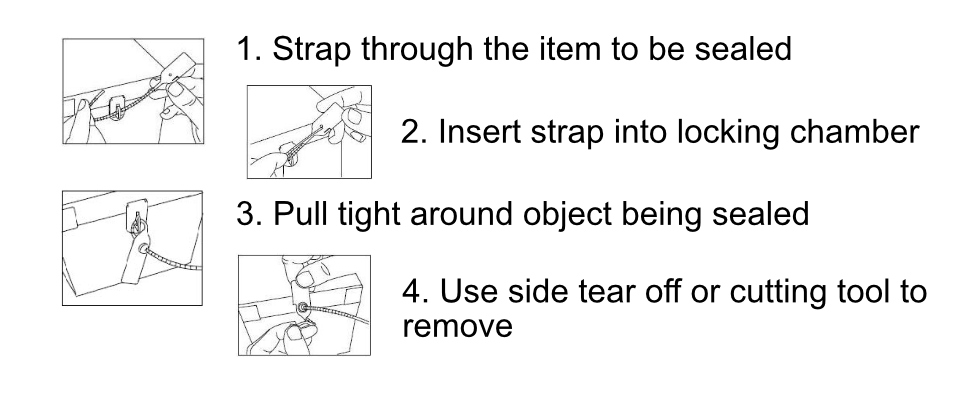 Instructions on how to apply and remove.
