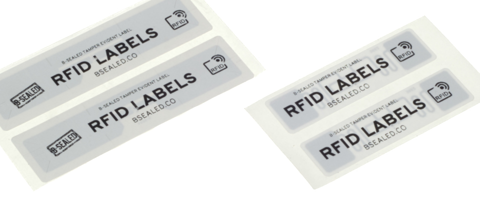 RFID labels can include security cuts that will tear off its antenna once removed, render the RFID unreadable.