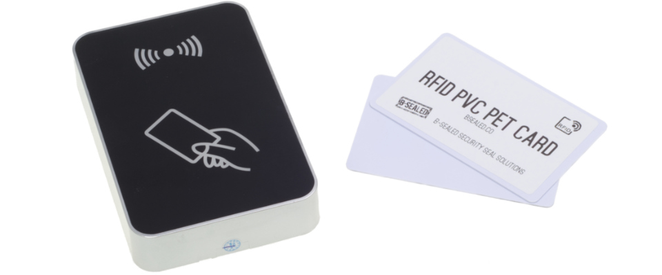 RFID UHF PET PVC cards for access management.