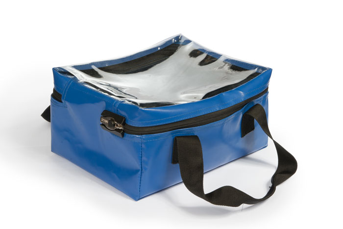 Clear top kit bag