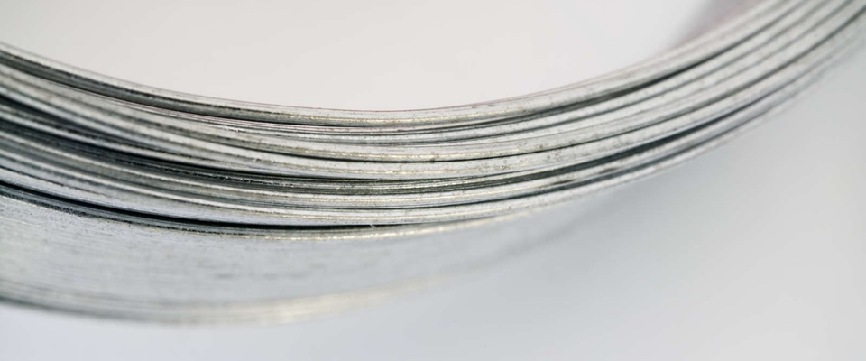 Stainless steel, galvanised steel, nylon coated, and copper wires available